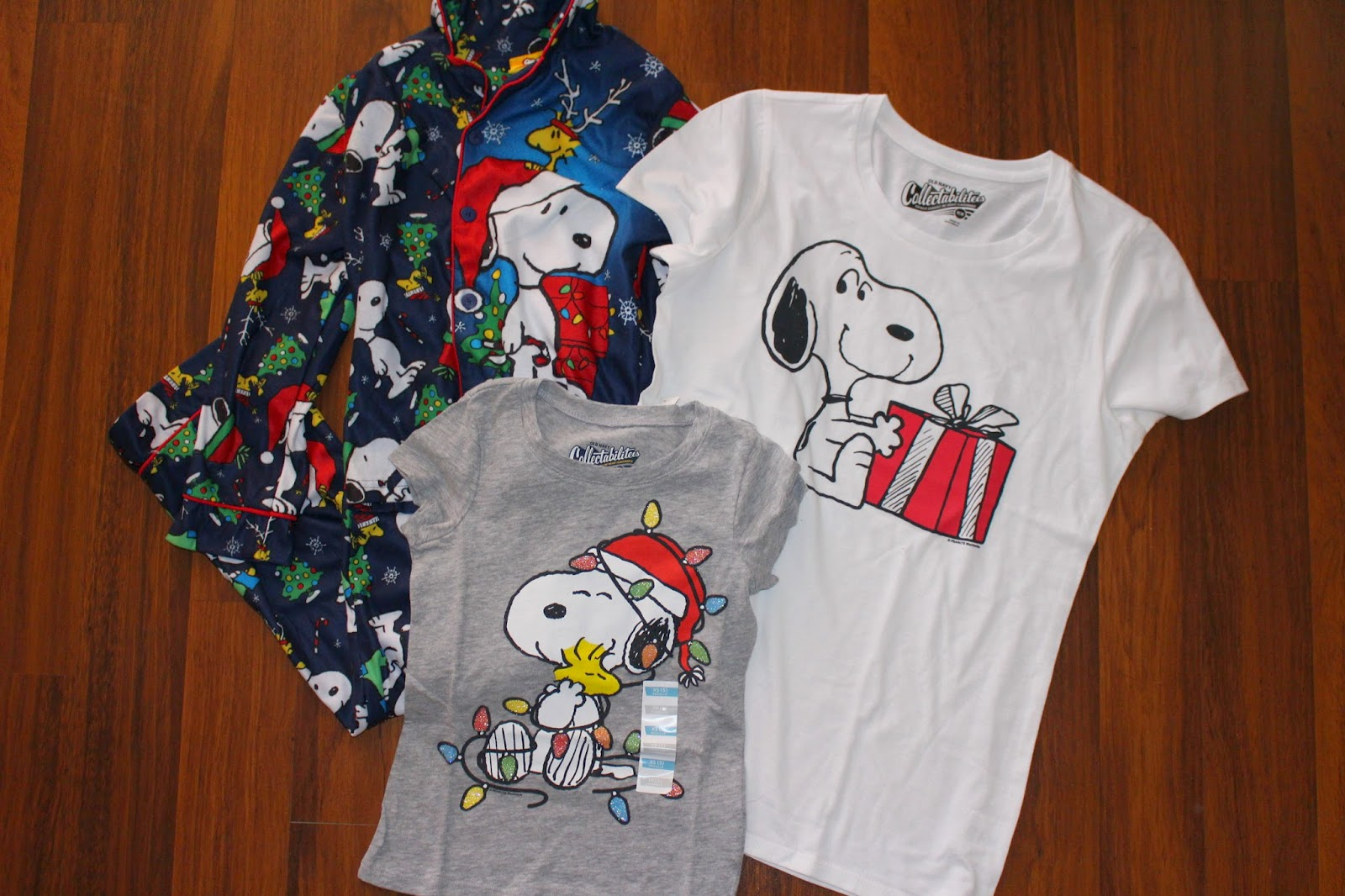 The Story Of Three: Santa Snoopy Apparel For The Family Review and ...