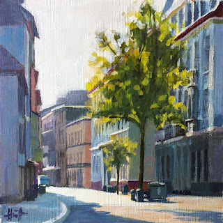 Morning on Prinzenstrasse by Liza Hirst