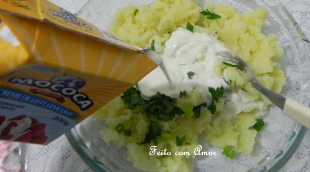 Salada fresca e fácil de fazer.