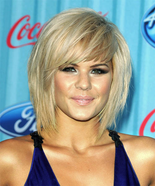 LongLayered Bob Hairstyles with Bangs