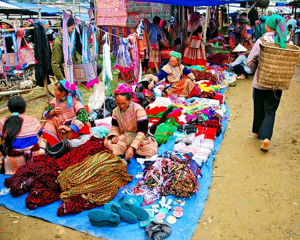 Pristine upland fair in Bac Ha