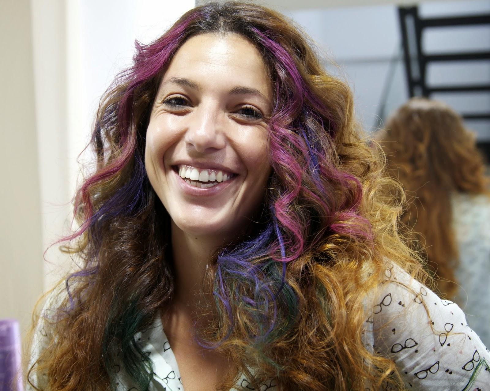 pelo de colores