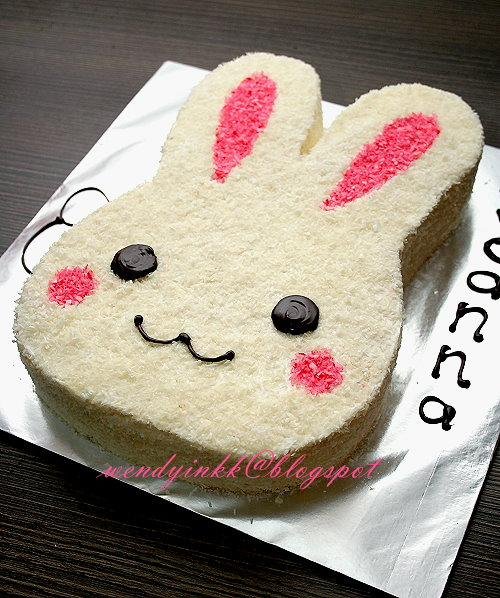 How To Make A Rabbit Cake Youtube