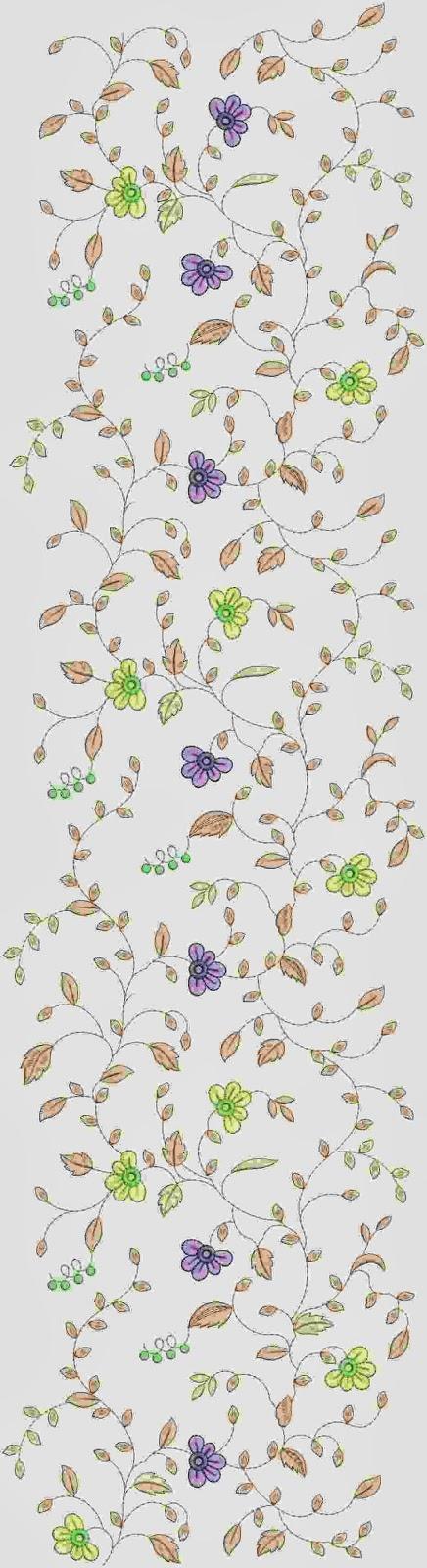Pakistani borduurwerk Oral patroon