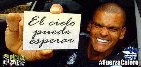 #FuerzaCalero ¡Toda Colombia está contigo!