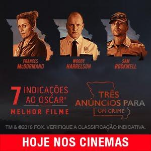TRÊS ANÚNCIOS PARA UM CRIME  - 15 DE FEVEREIRO NOS CINEMAS