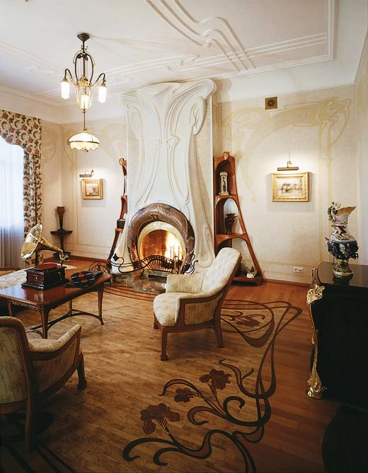 Loveisspeed Art Nouveau Style House Villa Liberty Near Moscow