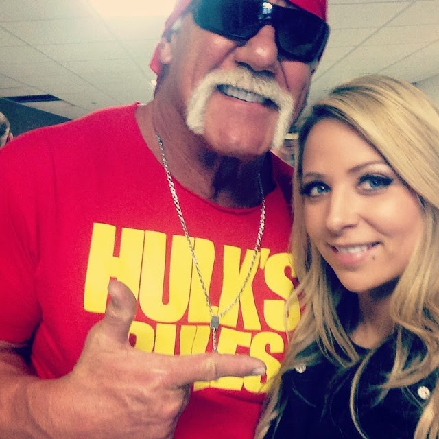 Hulk Hogan Hanging Out with Emma.