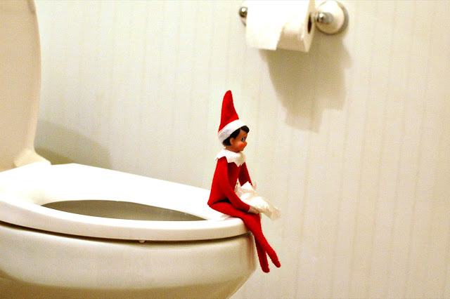 Elf on the Shelf  How embarrassing  Artist Stephanie Weaver