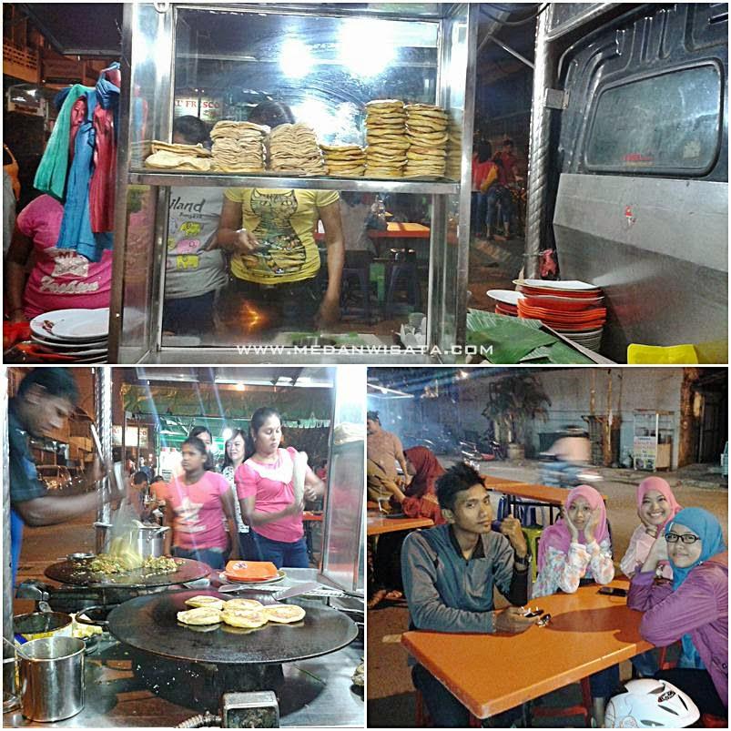 "Kuliner Medan Roti Tissue ""Martabak Saren"""