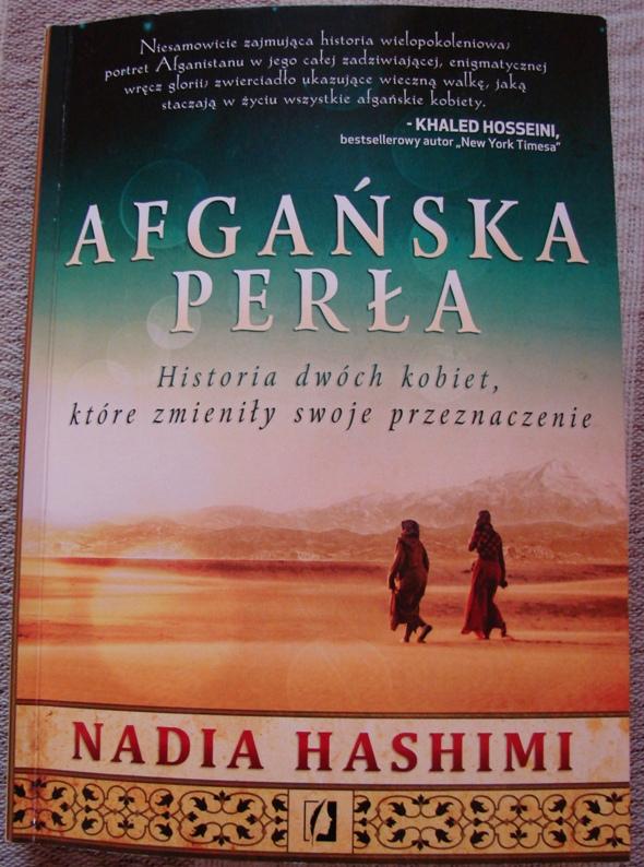Afgańska Perła okładka ksiażki