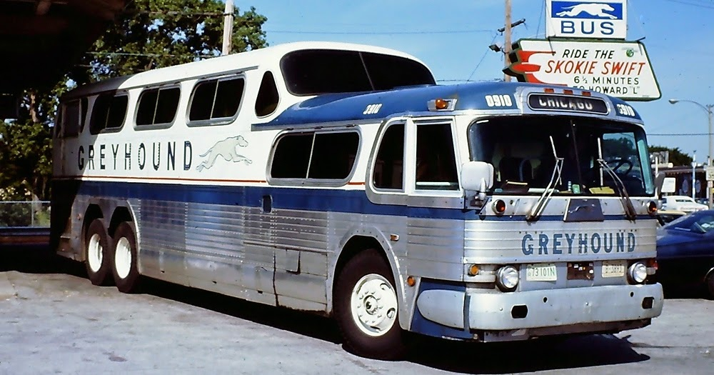 The Greyhound Group Mighty Scenicruiser Pd 4501