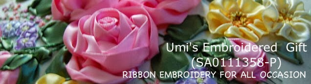 Ribbon Embroidery for all occasion