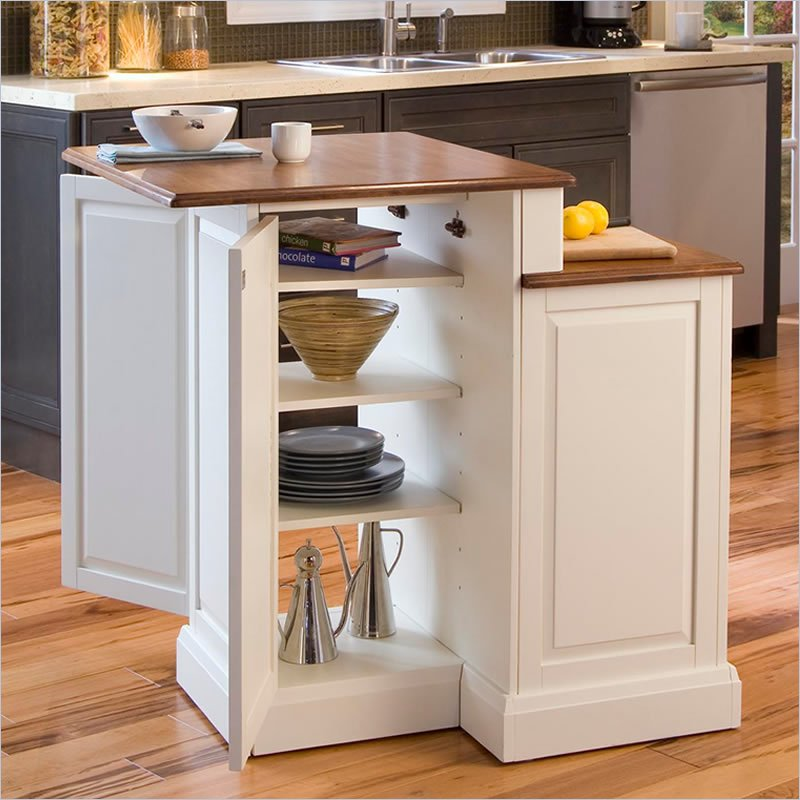 superb Compact Kitchen Island #9: Featured Product: Two Tier Kitchen Island