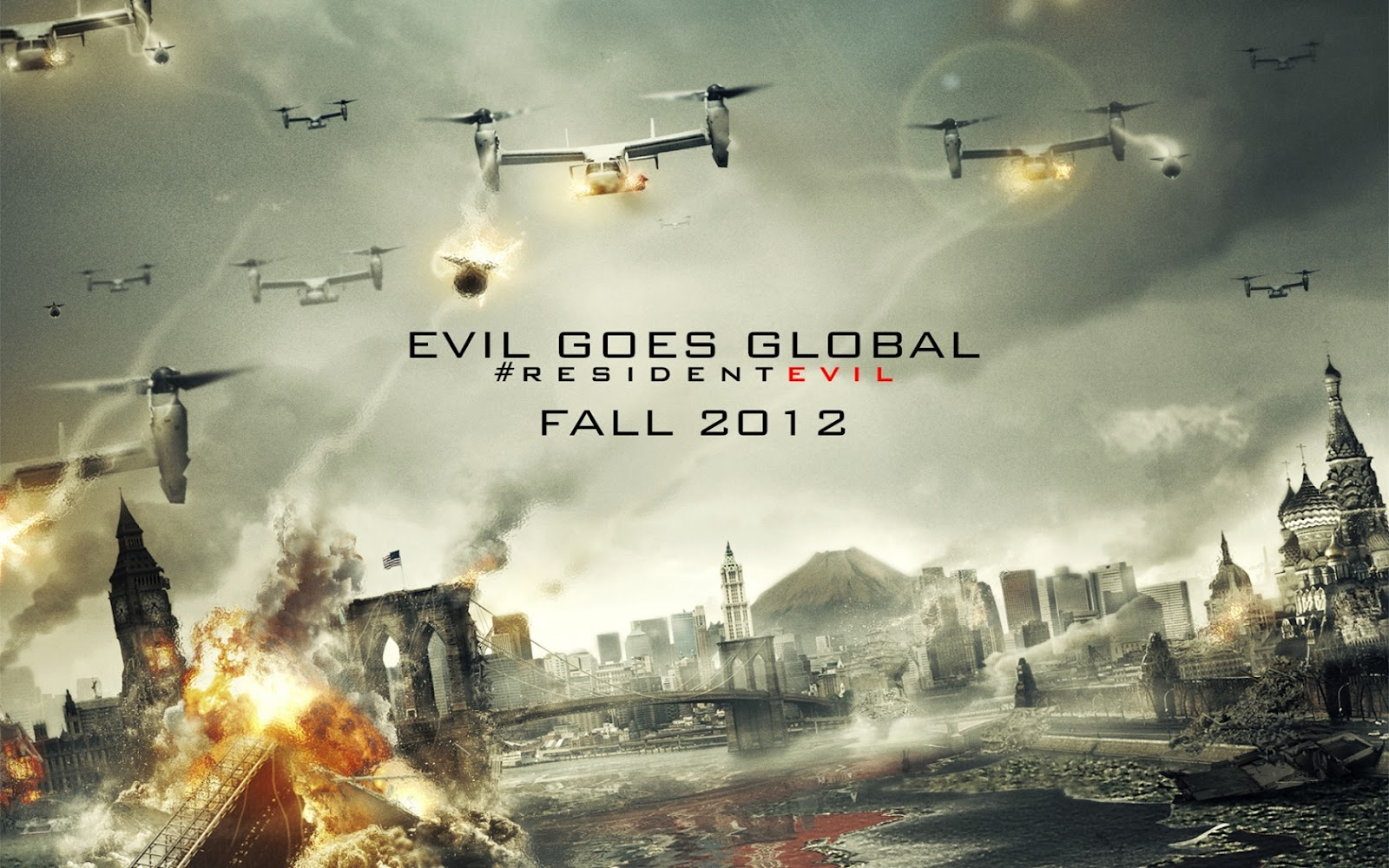 Resident evil retribution posters hd wallpapers voltagebd Image collections