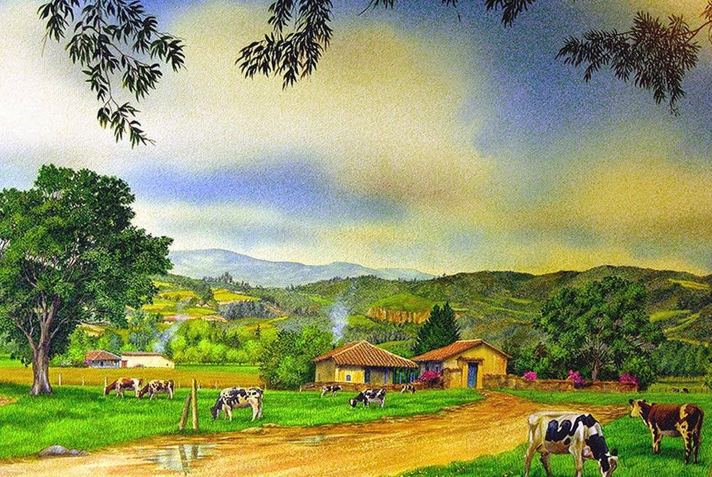 pinturas-pueblos-al-oleo
