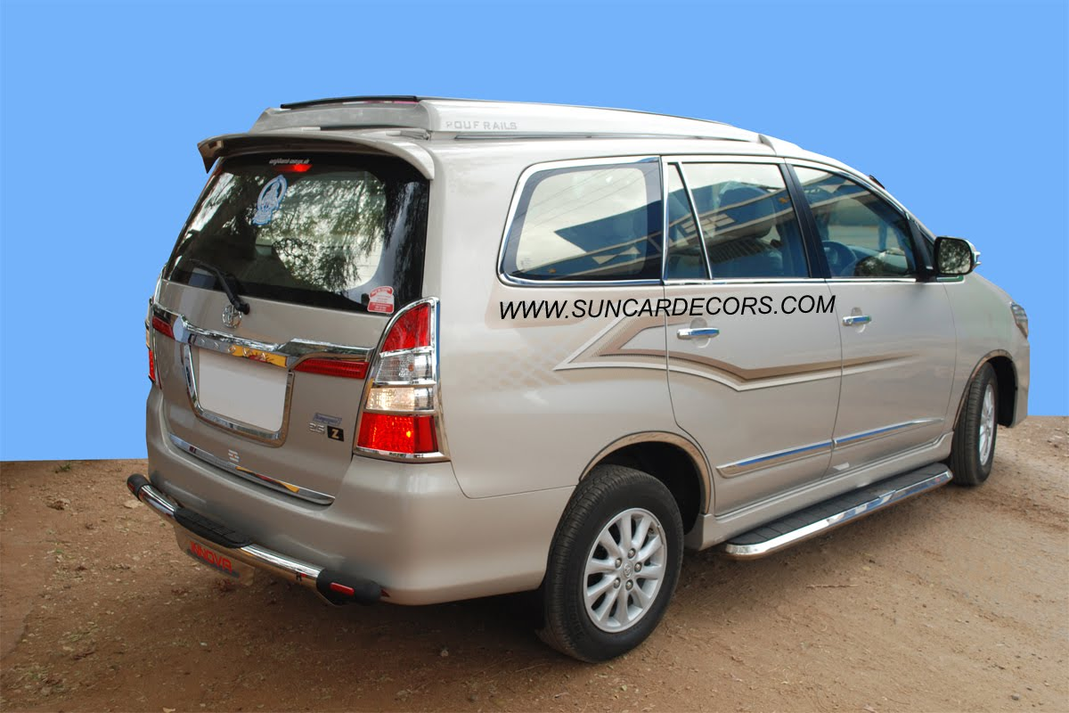 Toyota Innova Roof Luggage Carrier