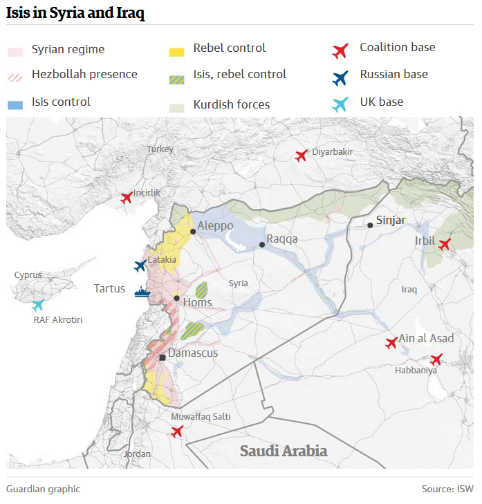 ISIS in Syria & Iraq