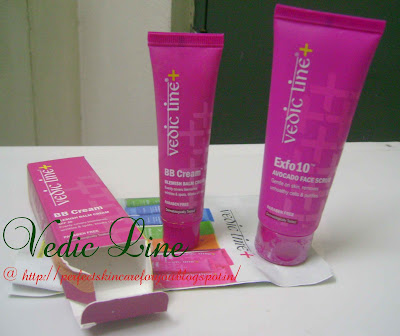 Vedic Line BB cream and Avocado scrub at Perfect Skin Care for you