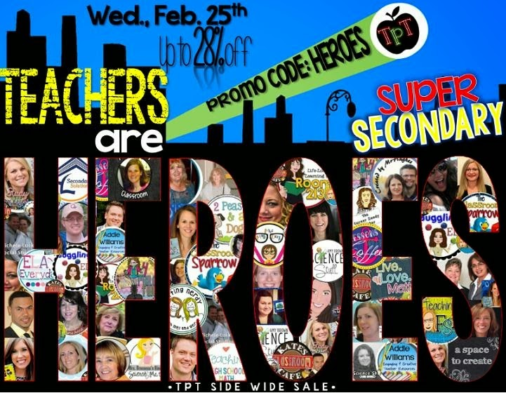 lizs lessons teachers are superheroes super secondary