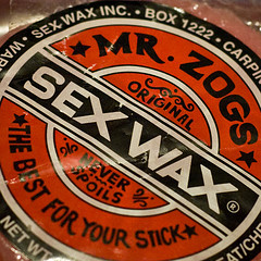 sex wax hockey stick