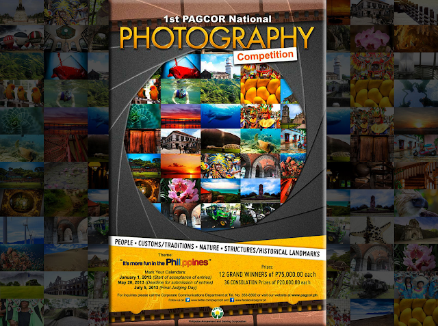 1st PAGCOR National Photography Competition