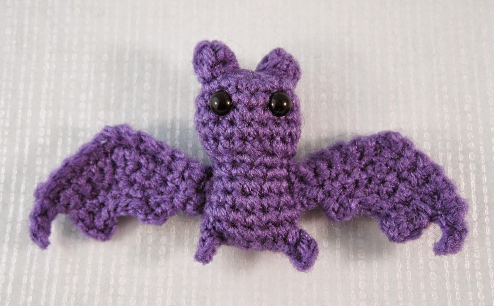 Amigurumi Bat Wings : LucyRavenscar - Crochet Creatures: Itty Bitty Bat - free ...