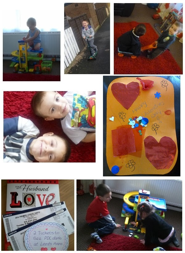 Yorkshire Blog, Mummy Blogging, Parent Blog, Valentine's, Valentines Day, Card, Playing, Outdoor Play,