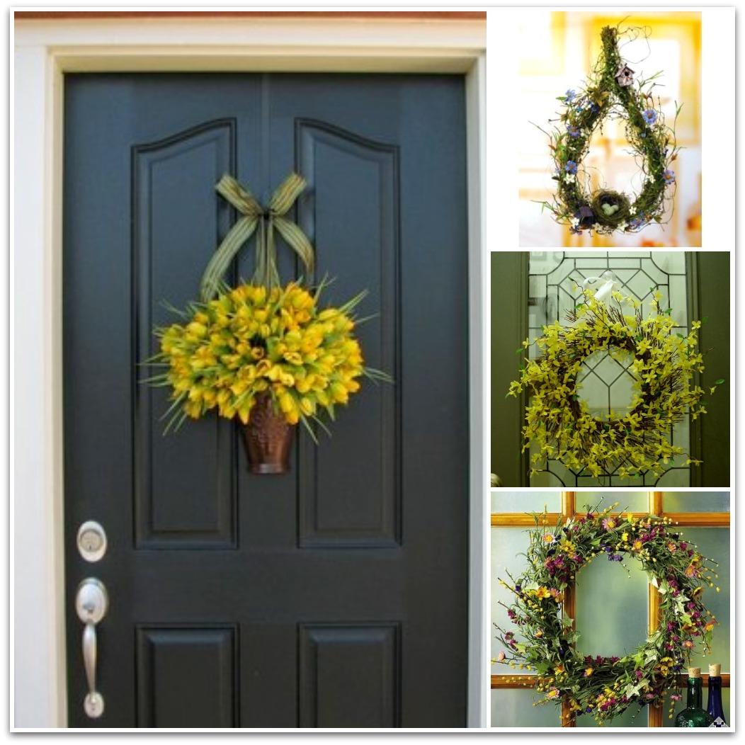 Sweet sweet home porte e ghirlande 3 decorazioni casa - Decorazioni per porte ingresso ...