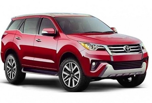 New Red Hot Toyota Fortuner 2016 | TOYOTA UPDATE REVIEW