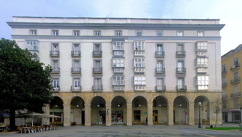 Casa Arcos de Botín en Plaza de Pombo de Santander