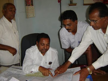 To Show the Map TO RajendraAnna Deshmukh, D.D.Pawar, P.A.Patil & Other