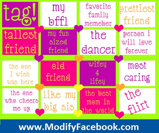 cute facebook tag pictures