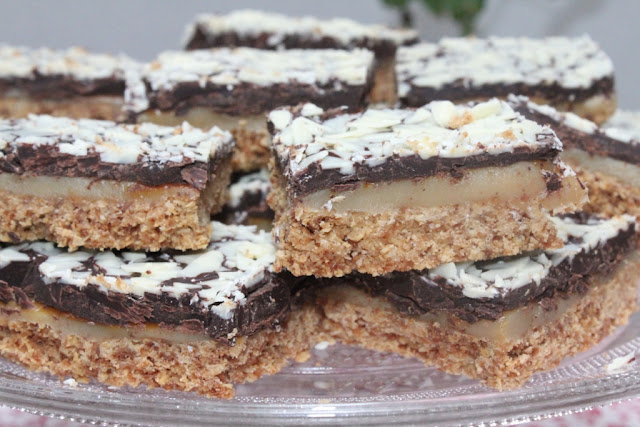 Toffee shortcake