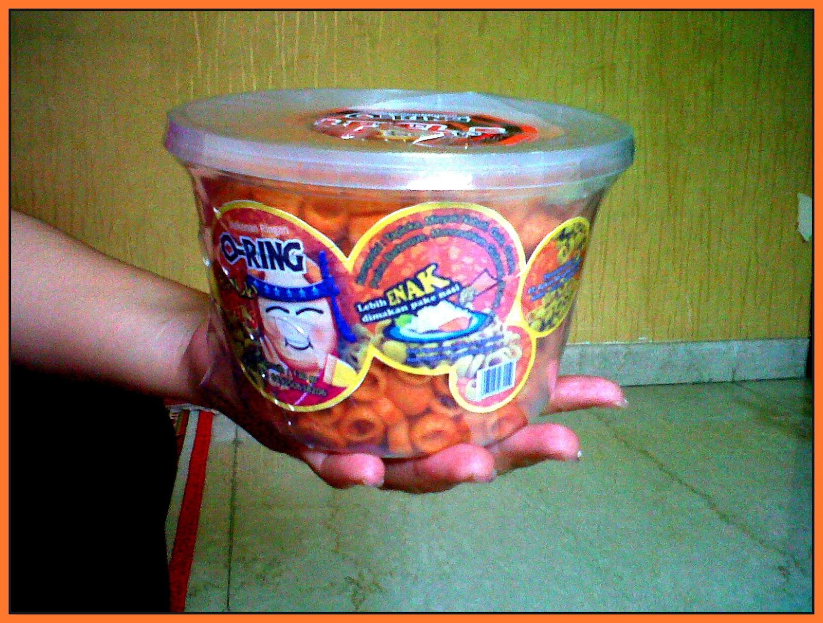 makaroni oring 70.000/dos snack pedas