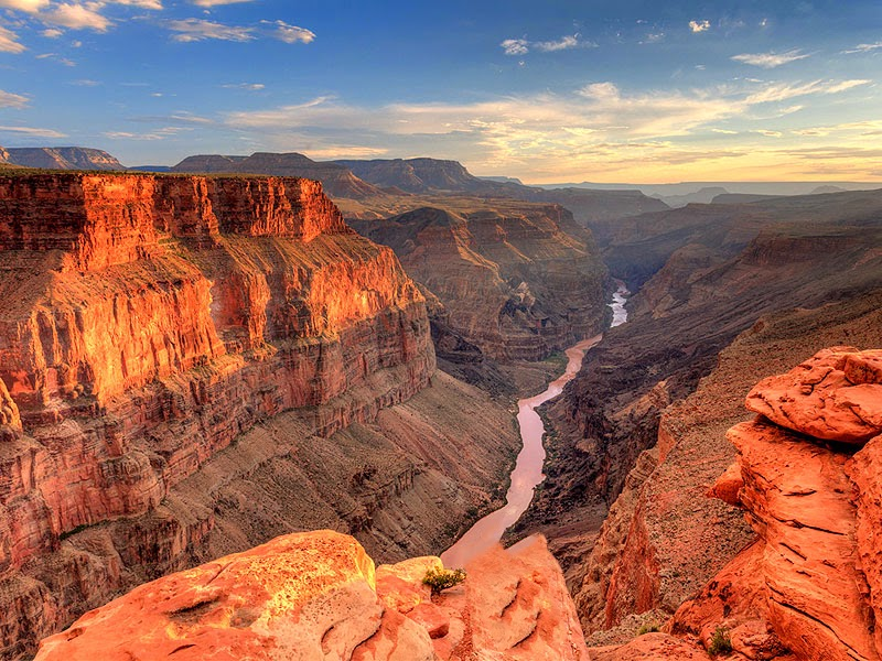 North America grand canyon Colorado river