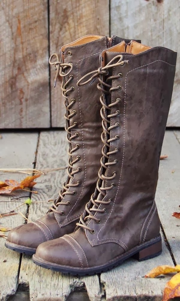 Amazing Tan Leather Long Boots for ladies, Fall & Winter style