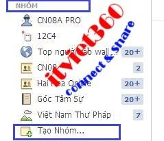 tao group tren facebook, hướng dẫn cách tạo Group mới nhất FB 2013