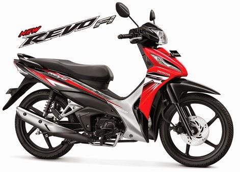 Wow New Honda Revo FI di jual dengan harga Rp 13.825.000 untuk wilayah JABODETABEK !