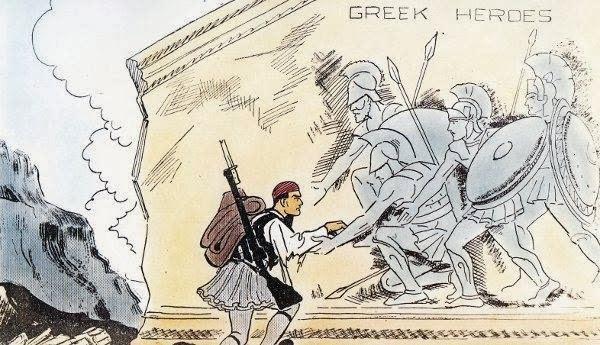Αποτέλεσμα εικόνας για greek italian war cartoon