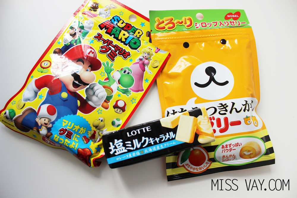 Candy Japan review bonbons