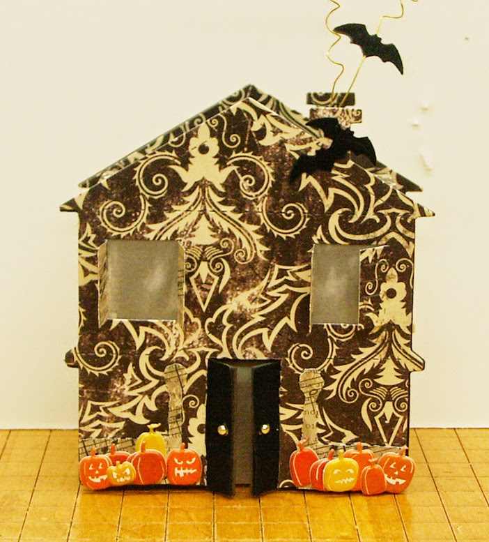 Haunted House Die Cut