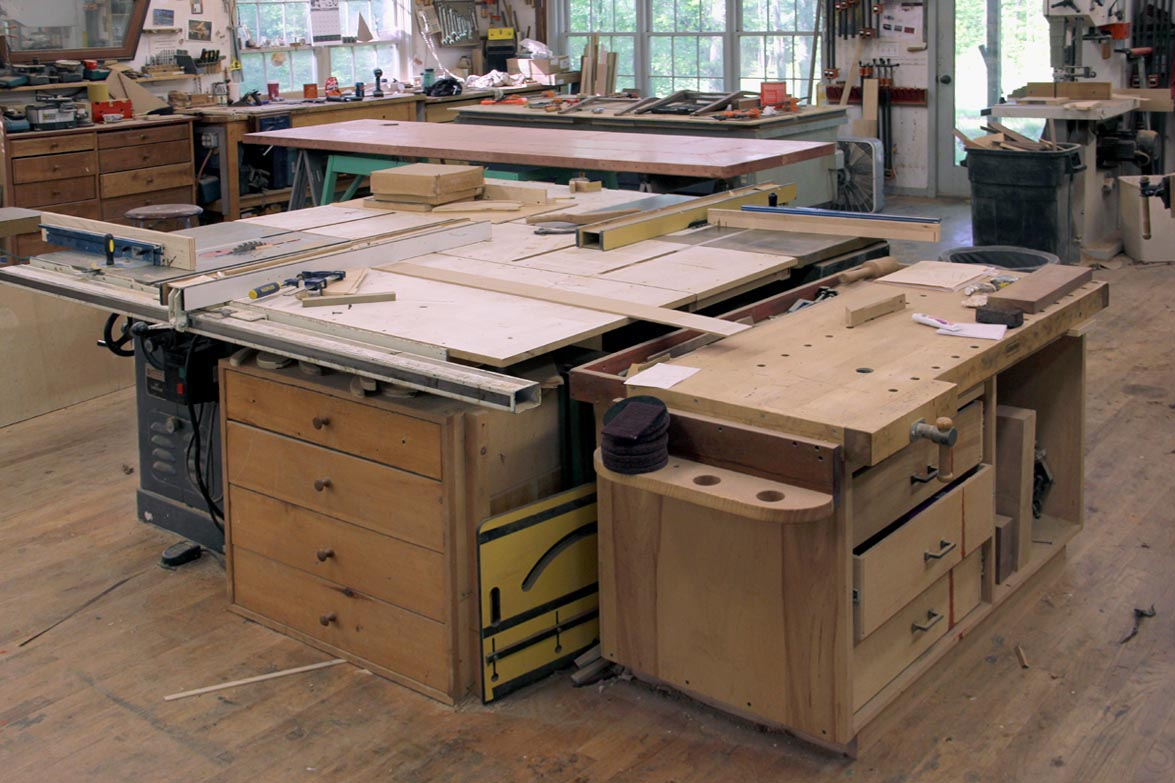 Dorset Custom Furniture - A Woodworkers Photo Journal: powermatic 66 ...