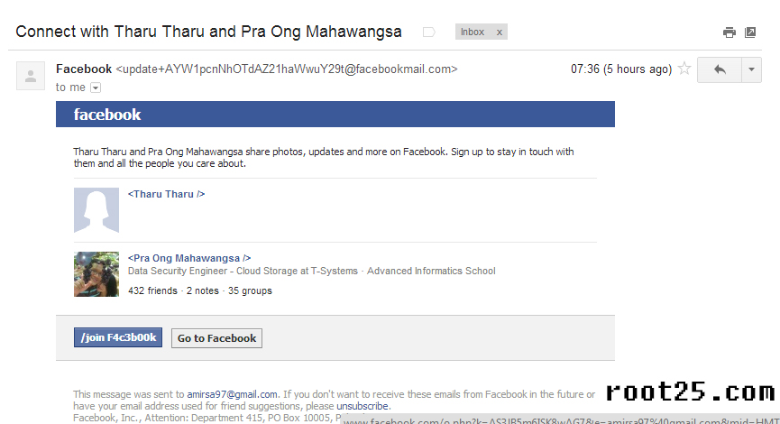 how to change facebook email public username