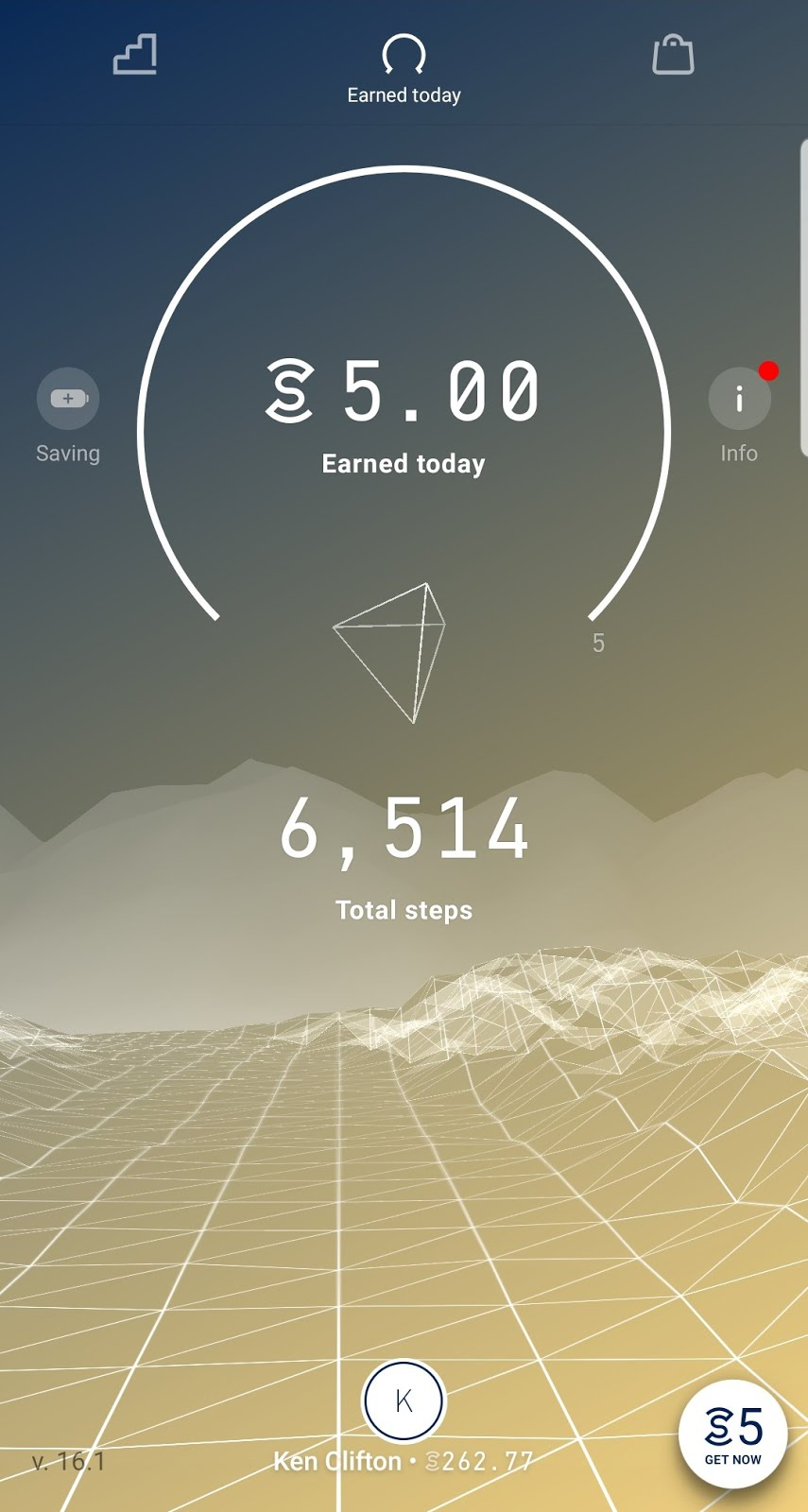 Earn Sweatcoin for Walking
