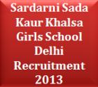 Sardarni Sada Kaur Khalsa Girls School Delhi