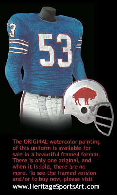Buffalo Bills 1965 uniform