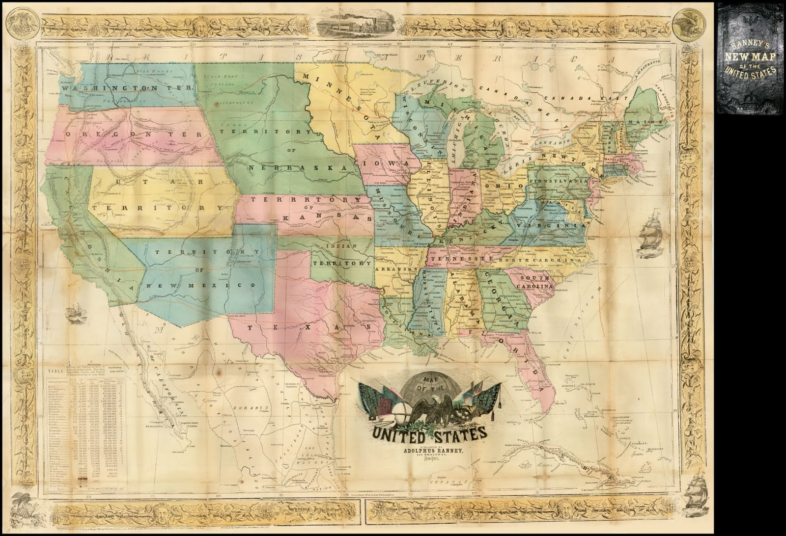 U.S. in 1854