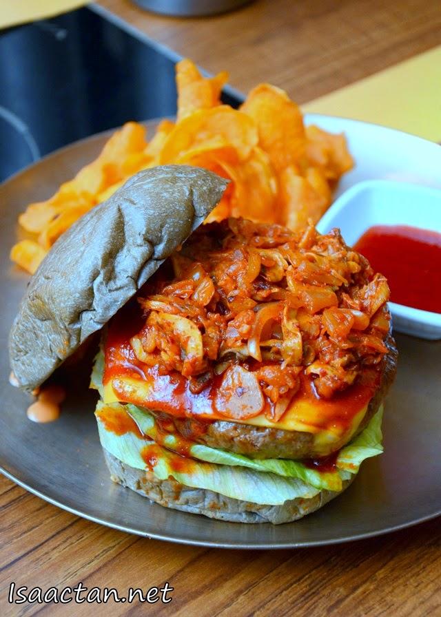 #1 Kimchi Burger - RM22.90