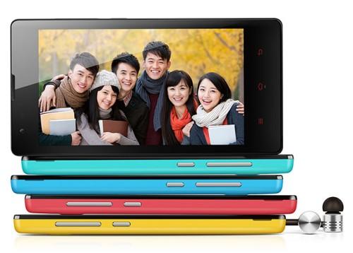 Tante diverse colorazioni e varianti di scocche per il nuovo smartphone quad core Xiaomi Hongmi